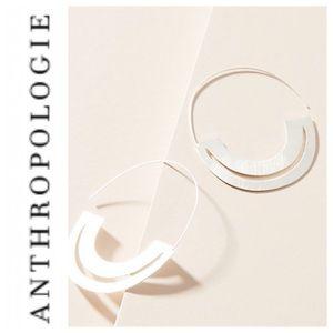 Anthropologie Anastasia Hoop Earrings